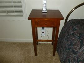 Nice solid wood night stand.