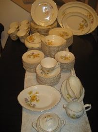 Taylor Smith dinner service for 12