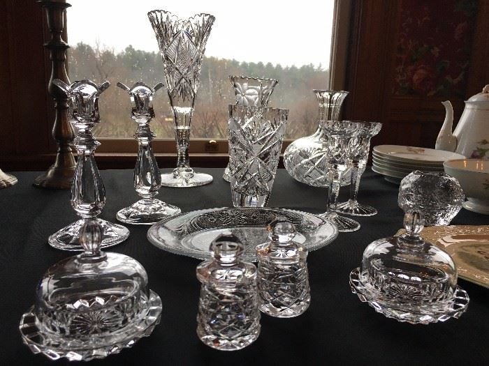 Waterford Crystal, Cut Glass