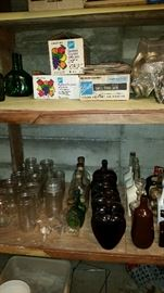 """Canning supplies and bottles for """"moonshine"""""""