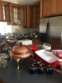 Some of the tons of kitchen stuff