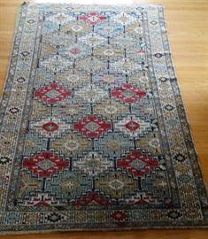 A Soviet five year plan Shirvan rug.