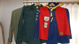 Vintage Boyscout Shirts
