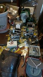Assorted Vintage Fishing Items