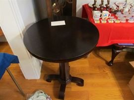 1860's American Lamp Table
