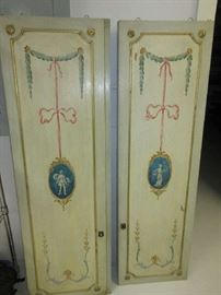 pair of french antique panels from France
