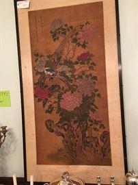 Antique Asian Watercolor