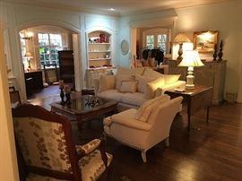 Stylish living room furnishings