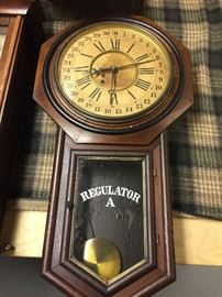 BUY IT NOW PAYPAL** $800 Antique regulator clock