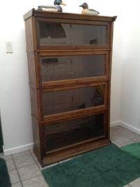 Antique Mission Lawyer Bookcase