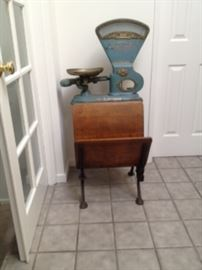 Antique Student DeskScale