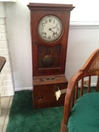 French Canadian Punch Clock