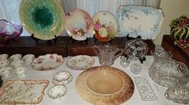 Limoges, Cut Glass, Art Glass