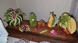 Porcelain Vegetables