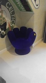 Custom made base ball clove chair