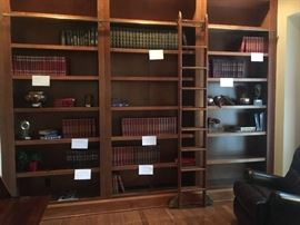 Assorted volumes of books. Perfect to fill up your library shelves!