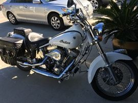 2003 scout deluxe Indian motorcycle 3,300.00 miles.