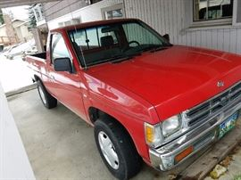 Nissan 1994 Truck...Pre-Sale - call if interested. $1750 asking price. There is also a Camper Shell for $300.