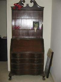 mahogany secretary