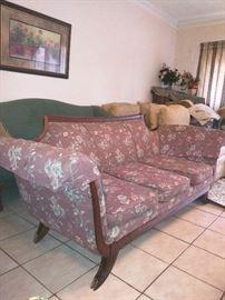 Antique Duncan Fife sofa (needs a little TLC)