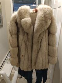 Beautiful condition fur coats