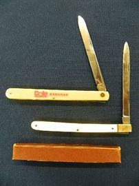 Vintage Melon Tester Knives Unused