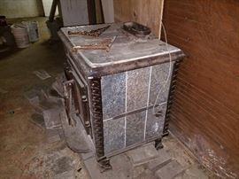 Large wood heater