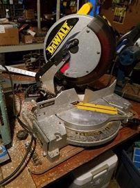 DeWalt chop saw.