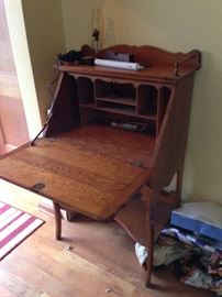 Beautiful antique secretary desk
