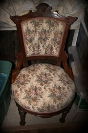 Eastlake Victorian Chairs - Four in all