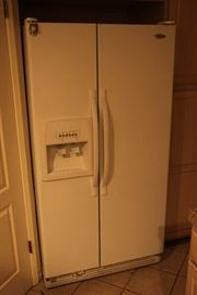 Side by Side Clean Fridge in great condition