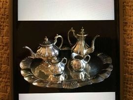 5 PIECE STERLING TEA SERVICE BY SANBORNS,   5171 GRAMS WEIGHT