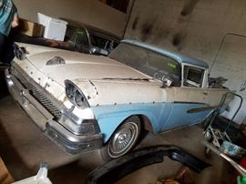 1958 Ford Ranchero   352 engine with police interceptor, 3 speed maual with overdrive
