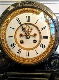 Face - Cartier Mantle clock