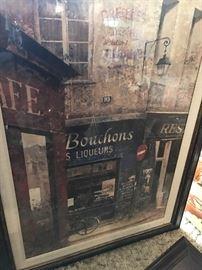 FRENCH STREETS FRAMED ART
