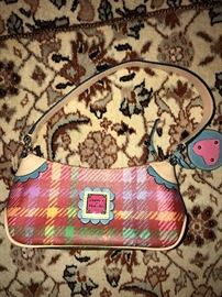 DOONEY AND BOURKE SMALL COLORFUL PURSE