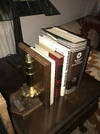BOOKS AND BOOKENDS