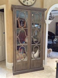 French style bleached great cabinet purchased 6 months ago at AQUA