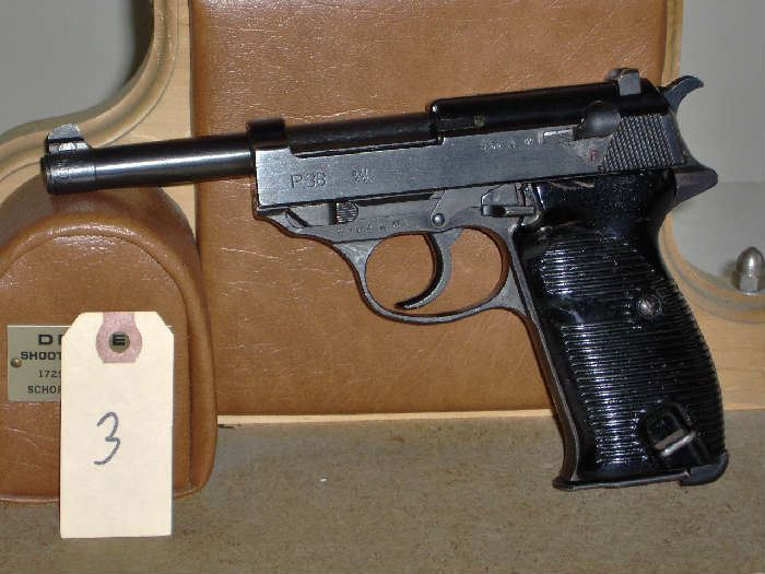 Walther P38 9mm