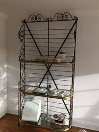 Authentic French bakery Bakers Rack