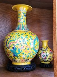 Asian Imperial Vases
