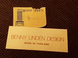 Benny Linden Teakwood Chairs (8)