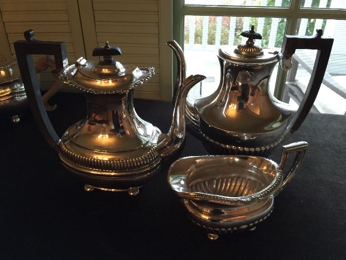 2 Sterling Silver Coffee Pots