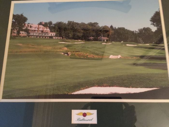 Signed Limited Edition Golf Prints