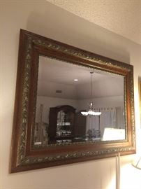 Another framed mirror