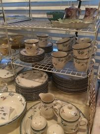 "Noritake ""Keltcraft"" dishes"