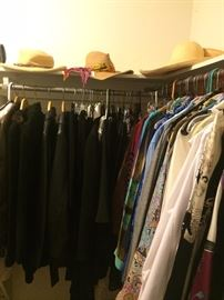A small portion of the clothes