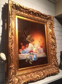 Beautifully framed still life