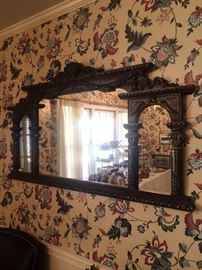 Three sectioned mirror