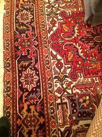 Multi-colored rug - 8 1/2 feet X 11 feet